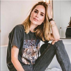 NWOT Anine Bing Muse Tiger Tee